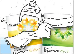 30% OFF Expression Web Studio and Expression Web 3.0.